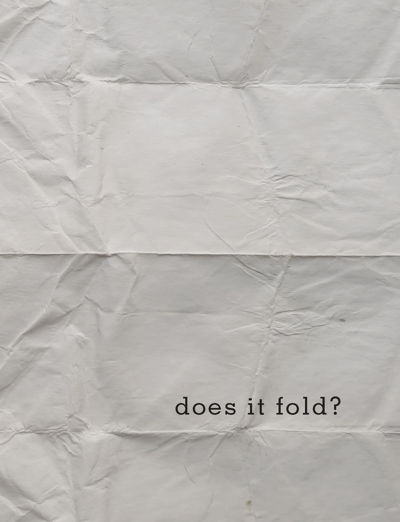 Does it Fold? book cover